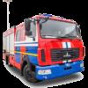 Автомобиль быстрого реагирования АБР МАЗ-4371Р2
