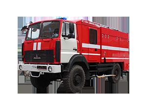 Автоцистерна пожарная АЦ 4,0 (5,0) МАЗ-5434Х3